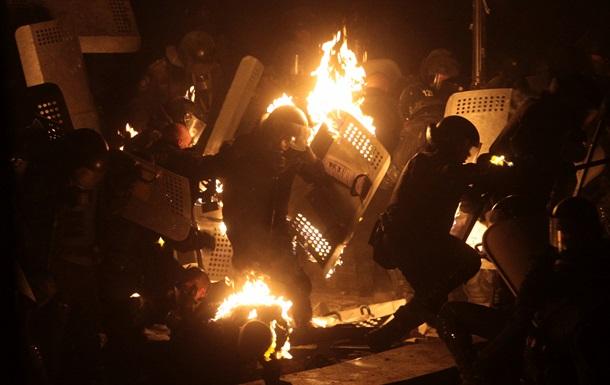 Мирный Майдан перерос в массовые беспорядки