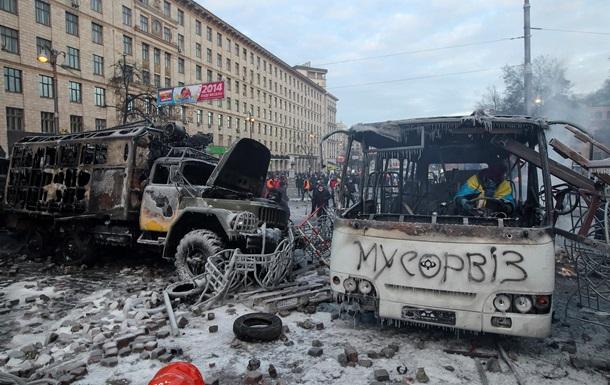 МВД: Ущерб, нанесенный на Грушевского, составляет около 3 млн грн