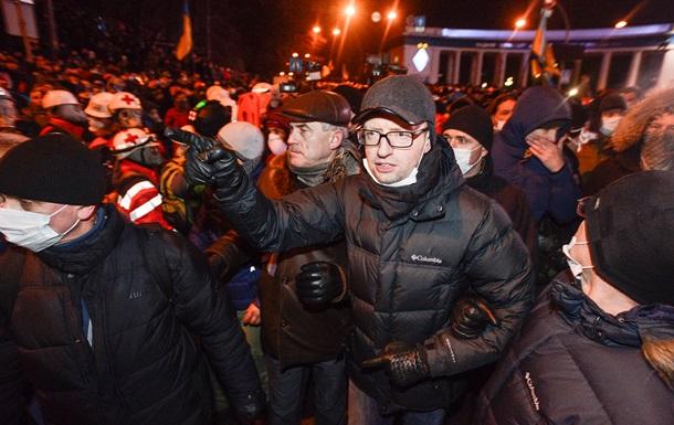 Переговоры должен вести лично президент - Яценюк
