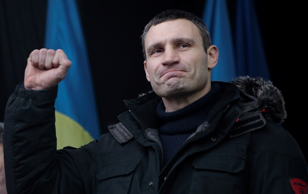 Кличко в Администрации Президента договаривается с Клюевым