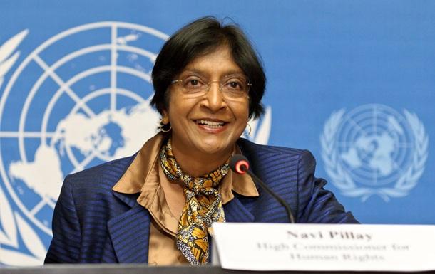 Верховный комиссар ООН призывает приостановить вступление в силу законов, принятых Радой 16 января