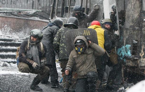 Столкновения на улице Грушевского пока утихли