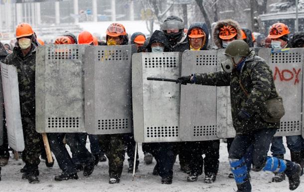 Радикальная организация Правый сектор провоцирует столкновения с милицией - МВД
