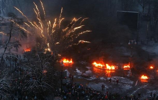 Массовые беспорядки в Киеве. В милицию уже доставлены более 70 человек, 18 арестованы
