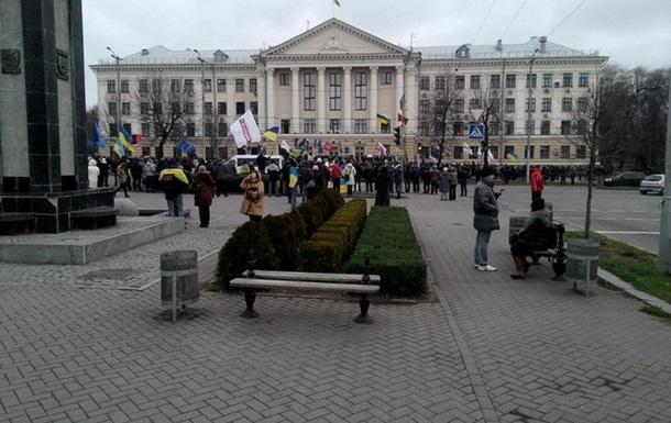 Евромайдан - не только в Киеве. Это - вся Украина