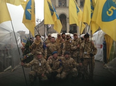 Уніформа окупанта вже на Євромайдані