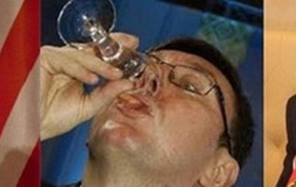 Ю.Луценко в день побиття пиячив і з послом США, і з послом Німеччини