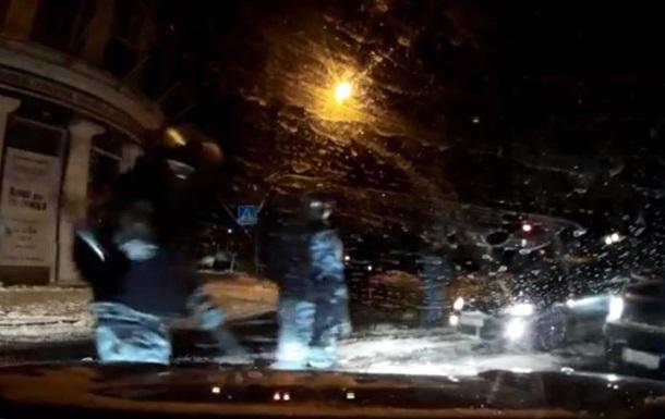 На активистов Автомайдана напали бойцы Беркута