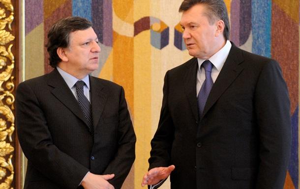 Янукович заверил Баррозу, что не намерен вводить ЧП в Украине – Еврокомиссия