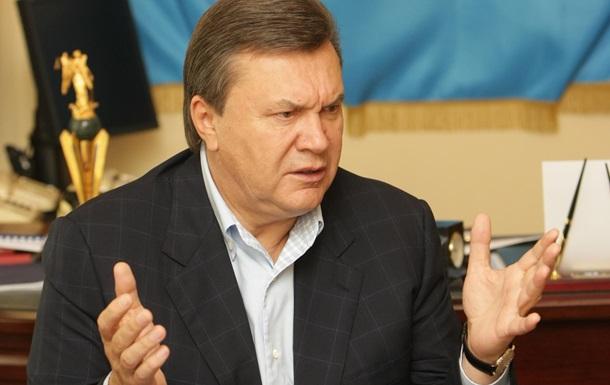 Янукович заявил, что не позволит разделить Украину