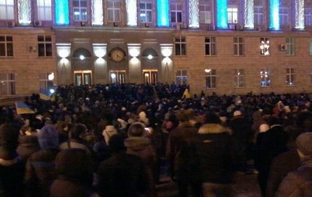 После штурма Черкасской облгосадминистрации 58 человек доставлены в милицию