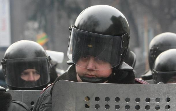На Грушевского силовики пошли на переговоры с протестующими