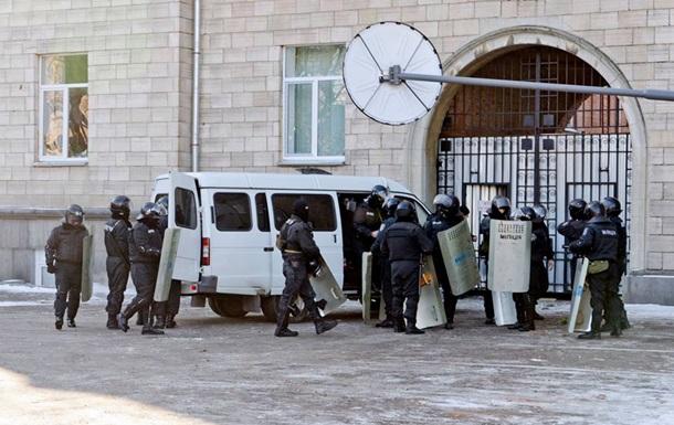 В Черкасском райотделе милиции прогремел взрыв