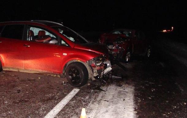 ДТП во Львовской области: столкнулись пять автомобилей, пострадали шесть человек
