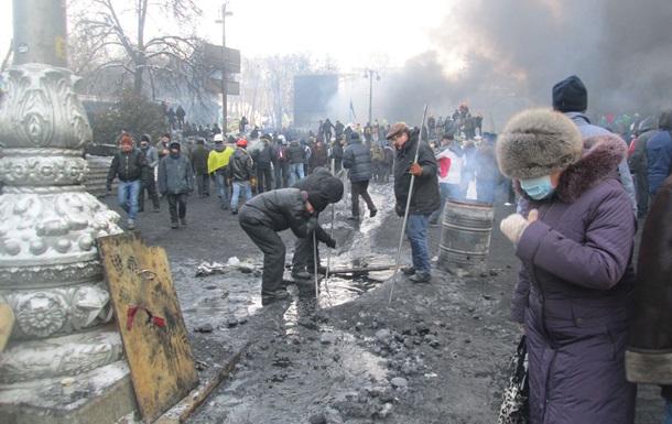 Батькивщина требует от Макеенко перекрыть воду на Грушевского