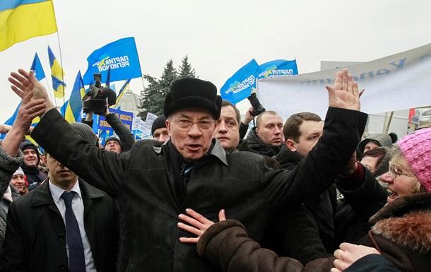 Азаров после отставки намерен заняться развитием Партии регионов