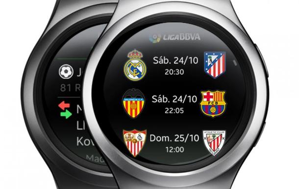 Football.ua внедрился в смарт-часы от Samsung