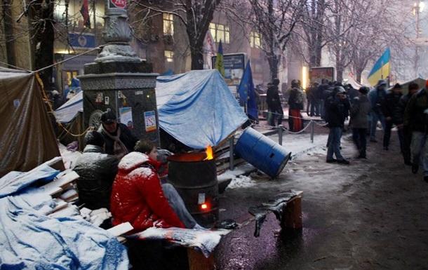 Луценко озвучил условия протестующих для освобождения зданий и улиц Киева