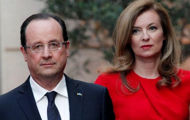 Бывшая первая леди Франции собралась написать книгу о жизни с Олландом