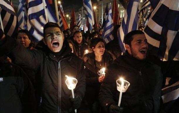 Парад неонацистов в Афинах завершился столкновениями с полицией