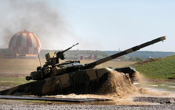 Российские военные готовят  танковый балет