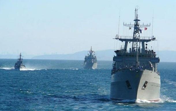 Украинские военные моряки впервые провели тренировку c кораблем ВМС Южной Кореи
