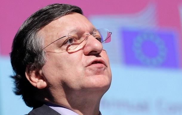 Возможная финансовая помощь Украине направлена для преодоления трудностей, а не для подписания Соглашения об ассоциации – Баррозу