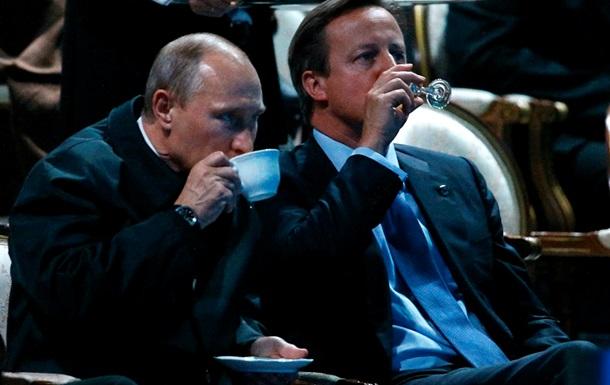 Путин обсудил украинские дела с премьером Великобритании
