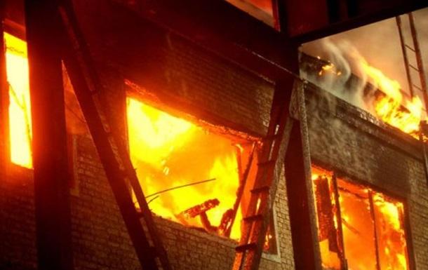 В Виннице ночью горел дом на пять квартир