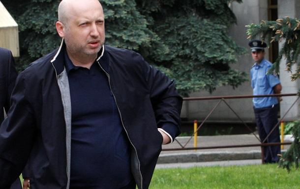 Оппозиция внесла в Раду законопроекты, позволяющие восстановить конституционный строй - Турчинов