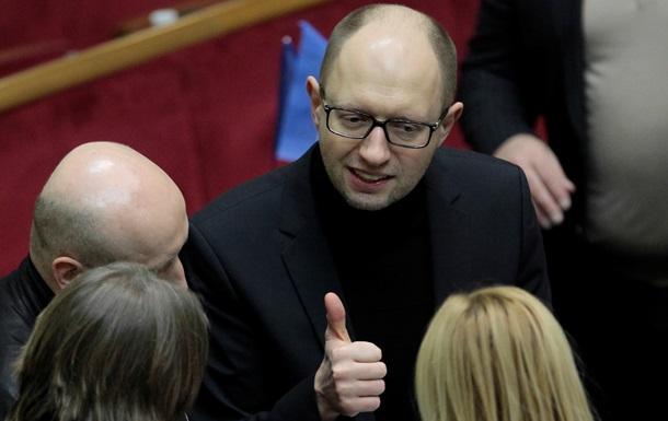 Яценюк рассказал об изменениях в Конституцию, которые предлагают в оппозиции