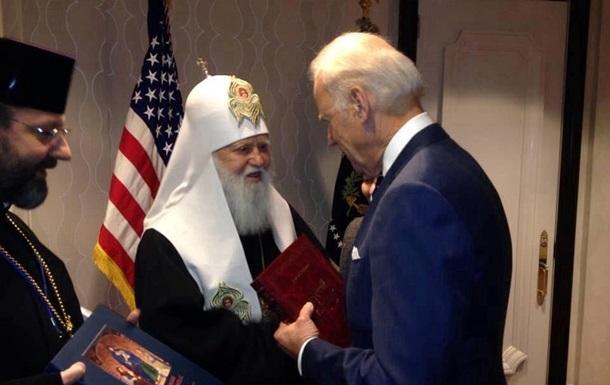 Патриархи Филарет и Святослав встретились с вице-президентом США