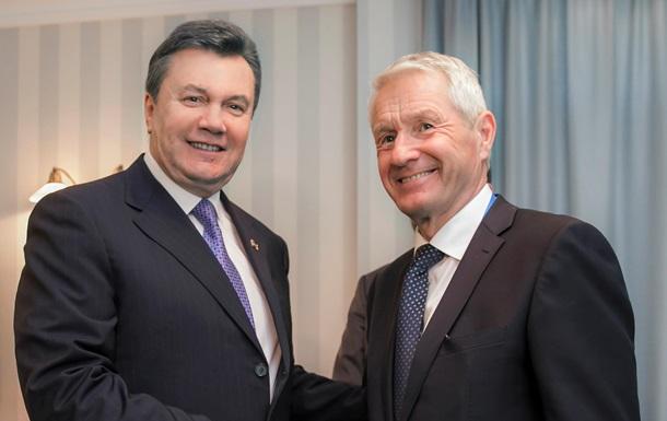 Янукович встретился в Сочи с генсеком Совета Европы и председателем ОБСЕ