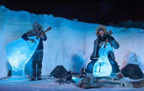 В Норвегии прошел ежегодный фестиваль Ледяной музыки