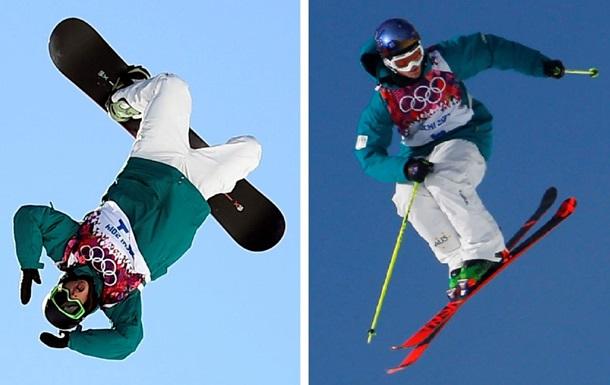 Сочи - лыжи - сноуборд - фото - Олимпиада 2014