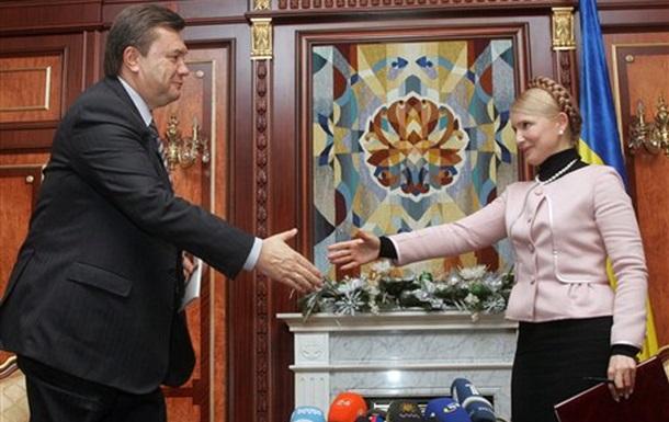 Тимошенко вызвала на дебаты Януковича