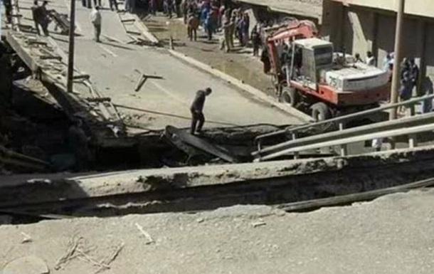 В Египте обрушилась дорожная эстакада, погиб полицейский