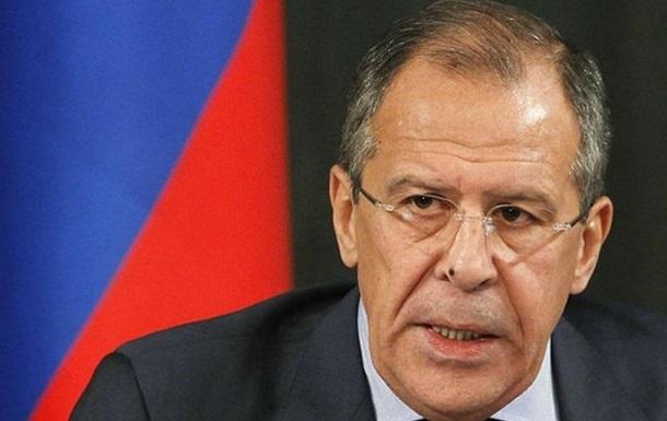 Без приглашения эмиссары прибывают в Киев и убеждают сделать выбор в пользу ЕС - глава МИД России