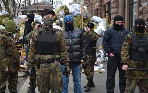 Пять участников акции  За чистый Киев  в больнице после драки с охраной Майдана