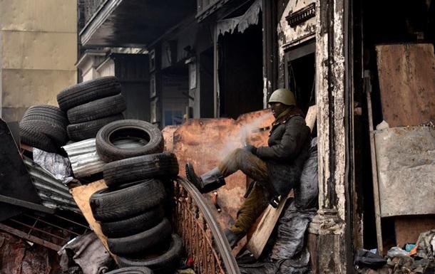 КГГА - баррикады на Грушевского - фото