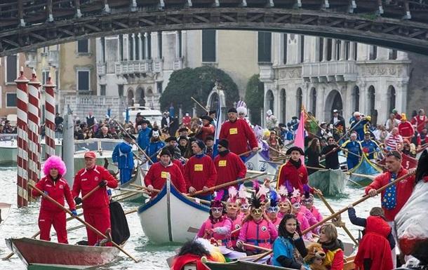 В Италии стартовал Венецианский карнавал