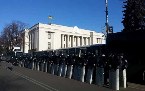 Силовики оцепили весь правительственный квартал и подходы к Раде