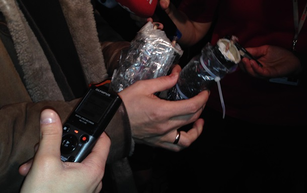 Участники провластного митинга под ВР были вооружены самодельными гранатами с гвоздями - Свобода
