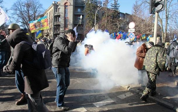 В Киеве уже пострадали 37 правоохранителей