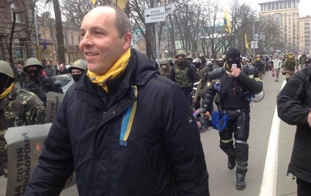 Комендат Майдана Парубий получил контузию – депутат