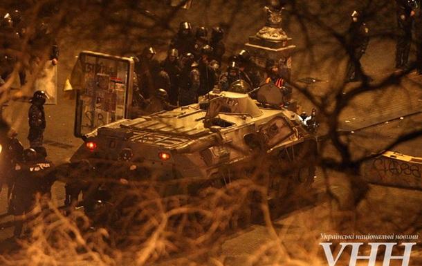 Со стороны Европейской площади к Майдану подъехал БТР - СМИ