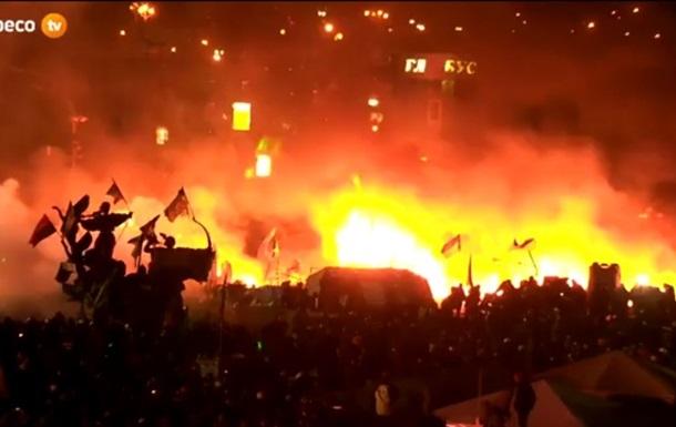 Милиция просит женщин и детей покинуть Майдан, поскольку там будет проводиться антитеррористическая операция