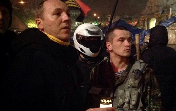 СМИ сообщили, что у коменданта Майдана инсульт