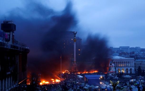 Наступление на Майдане: митингующие поднимаются вверх по Институтской