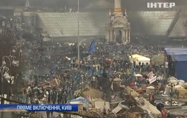 В центр Киева движется два БТР – ТВ